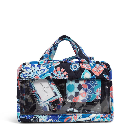 Factory Style Travel Bundle-Lotus Flower Swirl-Image 1-Vera Bradley