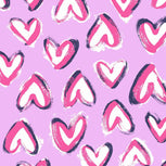 Factory Style Baby Bag-Hearts Iced Pink-Image 4-Vera Bradley