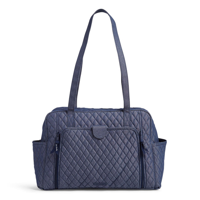 Factory Style Baby Bag-Moonlight Navy-Image 1-Vera Bradley
