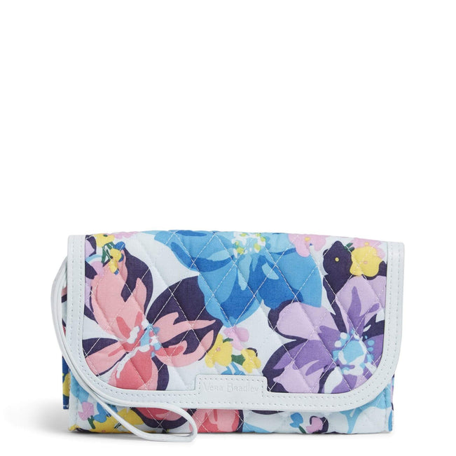 Factory Style Trimmed Wristlet-Marian Floral-Image 1-Vera Bradley