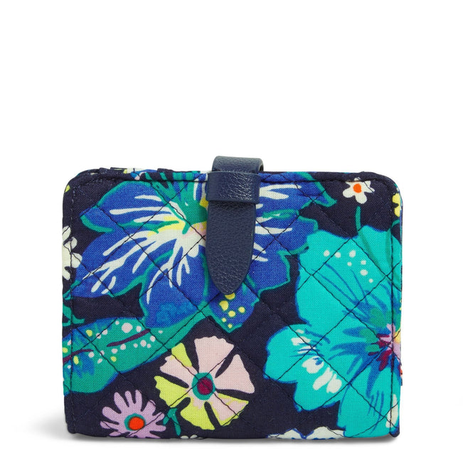 RFID Small Wallet-Moonlight Garden-Image 1-Vera Bradley