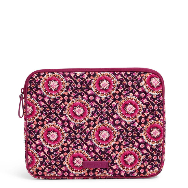 Tablet Sleeve-Raspberry Medallion-Image 1-Vera Bradley