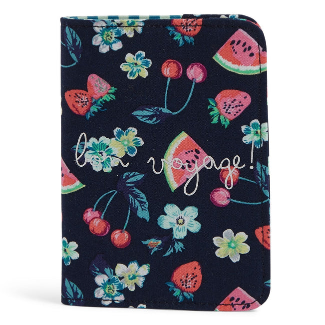 Passport Cover-Fruit Grove-Image 1-Vera Bradley