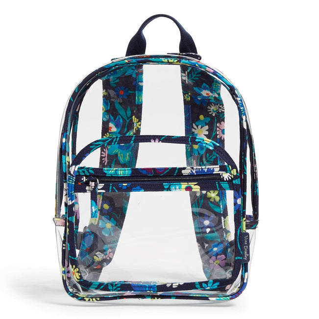 Clearly Colorful Stadium Backpack-Moonlight Garden-Image 1-Vera Bradley