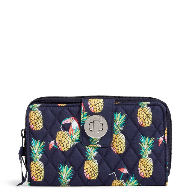 Factory Style RFID Turnlock Wallet-Toucan Party-Image 1-Vera Bradley