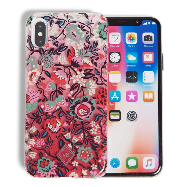Factory Style Protective Slim Case iPhone X/XS-Bloom Berry-Image 1-Vera Bradley