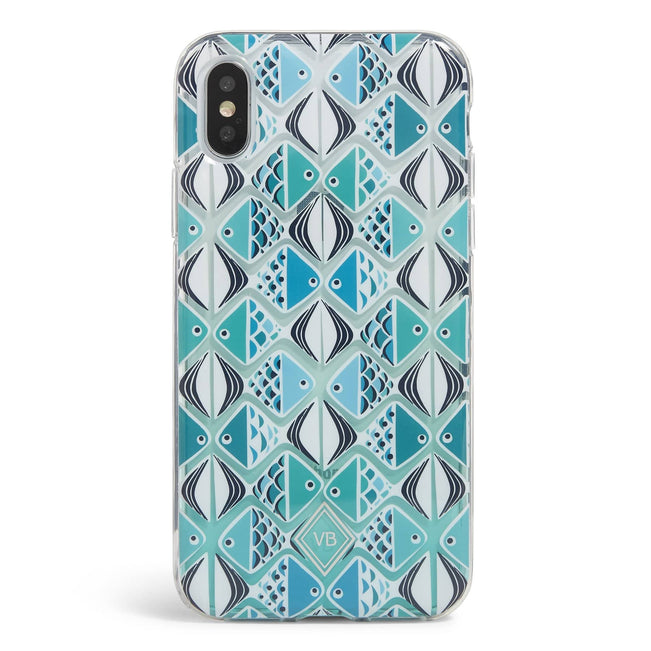 Factory Style Protective Slim Case iPhone X/XS-Go Fish Blue-Image 1-Vera Bradley
