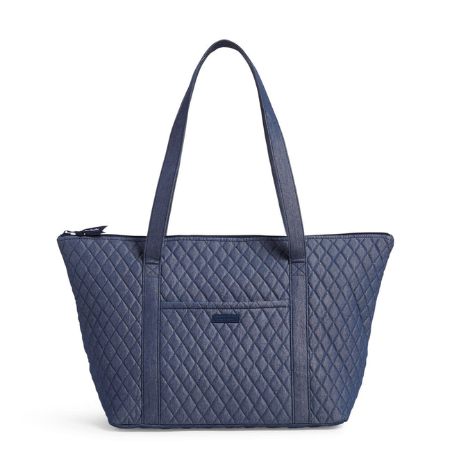 Factory Style Carry-On Travel Tote Bag-Moonlight Navy-Image 1-Vera Bradley