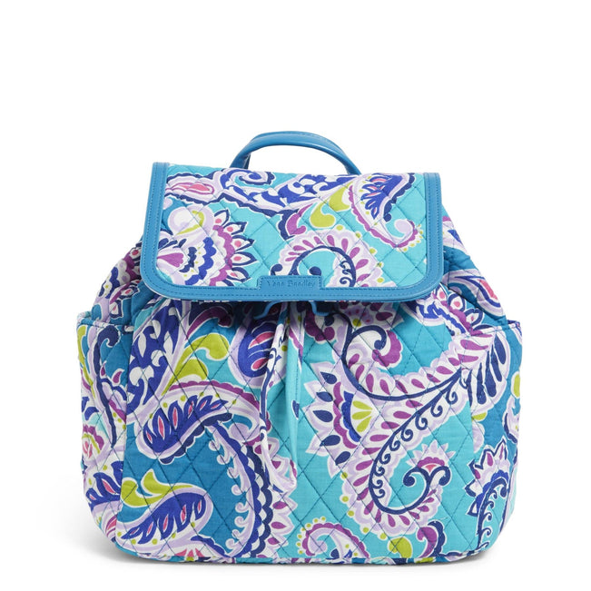 Factory Style Fashion Backpack-Waikiki Paisley-Image 1-Vera Bradley
