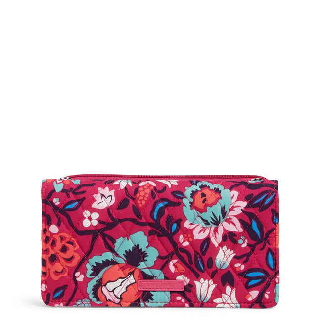 Factory Style RFID Wallet Crossbody-Bloom Berry-Image 1-Vera Bradley