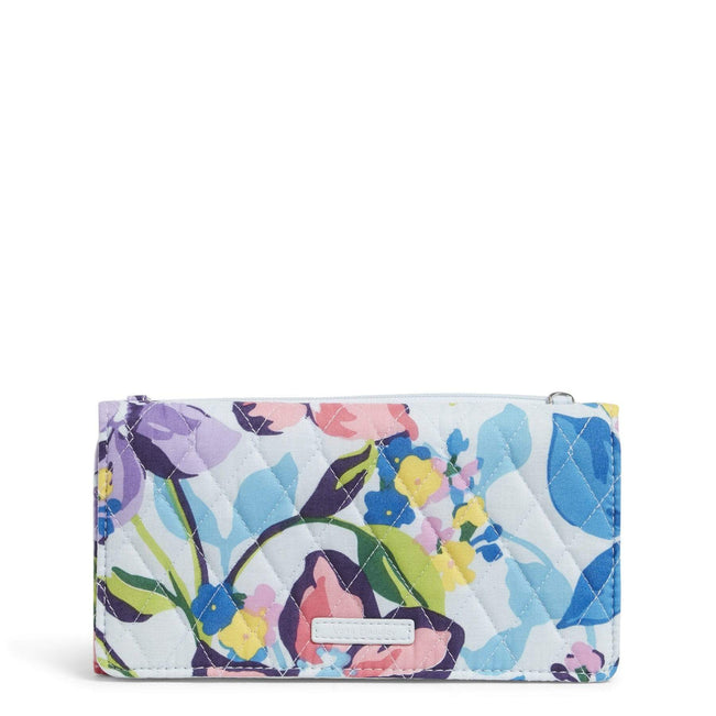Factory Style RFID Wallet Crossbody-Marian Floral-Image 1-Vera Bradley