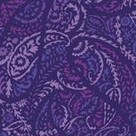 Factory Style Checkbook Cover-Paisley Amethyst-Image 3-Vera Bradley