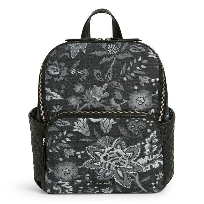 Carryall Backpack-Foxwood Navy-Image 1-Vera Bradley