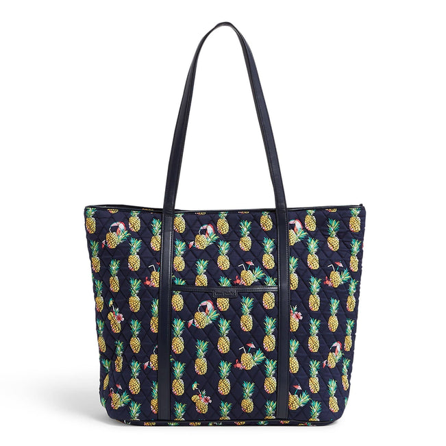 Factory Style Trimmed Vera Bag-Toucan Party-Image 1-Vera Bradley