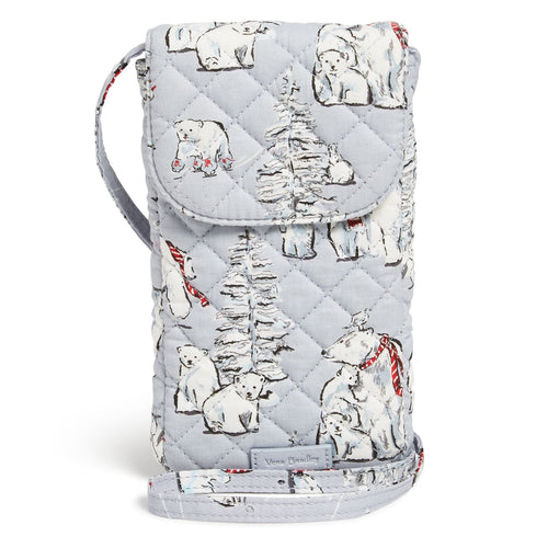 Carson Cellphone Crossbody-Beary Merry-Image 1-Vera Bradley