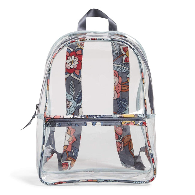 Factory Style Essential Clear Backpack-Tropical Evening-Image 1-Vera Bradley