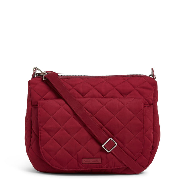 Carson Shoulder Bag-Performance Twill Berry Red-Image 1-Vera Bradley