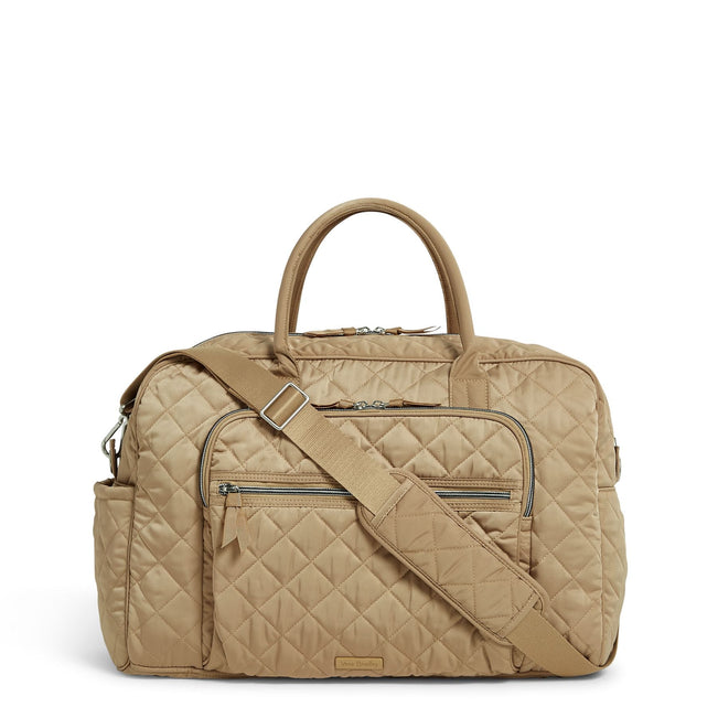 Weekender Travel Bag-Performance Twill Khaki-Image 1-Vera Bradley