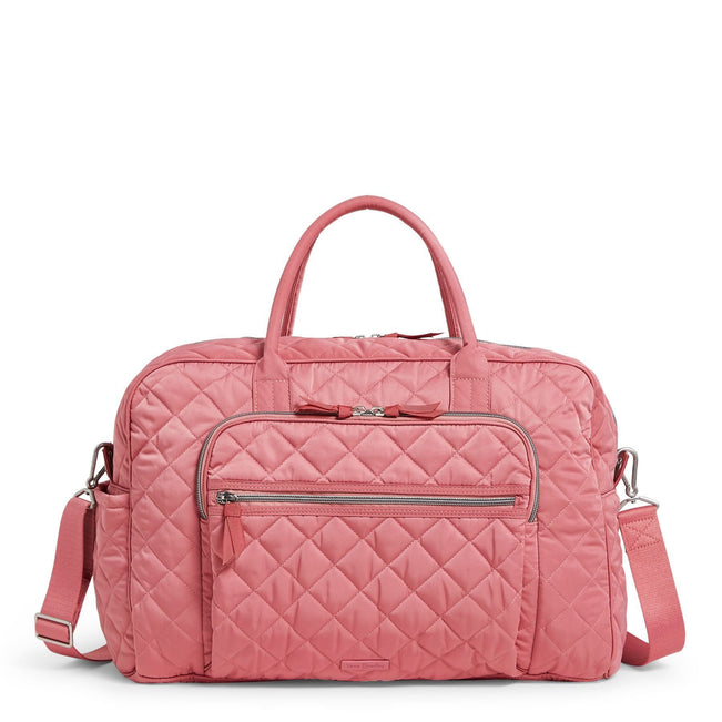 Weekender Travel Bag-Performance Twill Strawberry Ice-Image 1-Vera Bradley