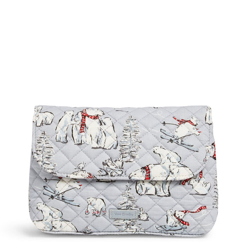 Brush & Cosmetic Case-Beary Merry-Image 1-Vera Bradley