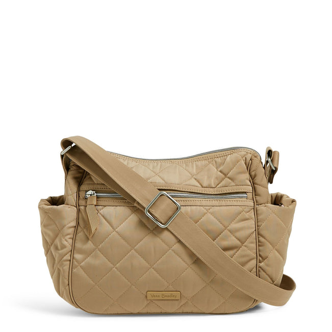 On the Go Crossbody Bag-Performance Twill Khaki-Image 1-Vera Bradley