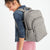 Campus Backpack-Performance Twill Khaki-Image 6-Vera Bradley