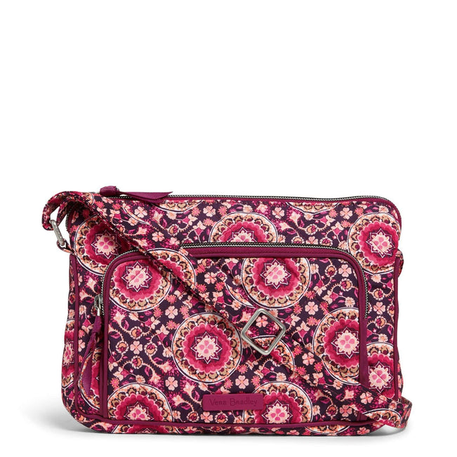 RFID Little Hipster-Performance Twill Raspberry Medallion-Image 1-Vera Bradley