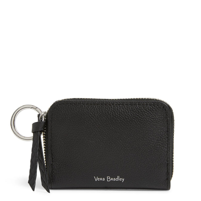 Factory Style Leather RFID Small Wallet-Sycamore Black-Image 1-Vera Bradley