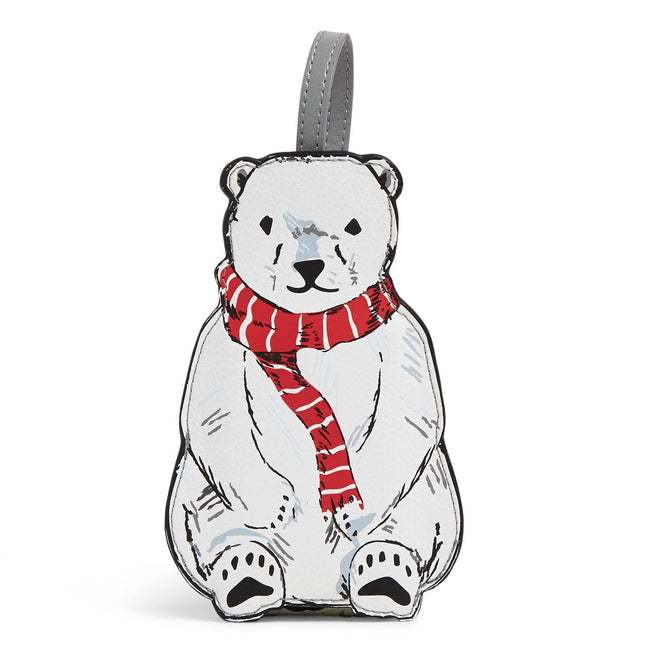 Whimsy Luggage Tag-Beary Merry-Image 1-Vera Bradley