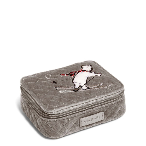 Travel Pill Case-Beary Merry-Image 1-Vera Bradley