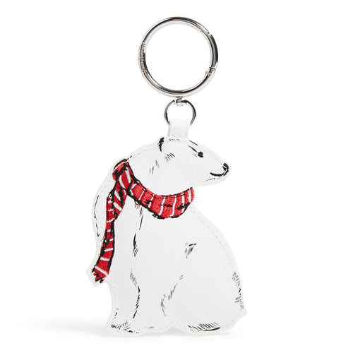 Polar Bear Bag Charm-Beary Merry-Image 1-Vera Bradley