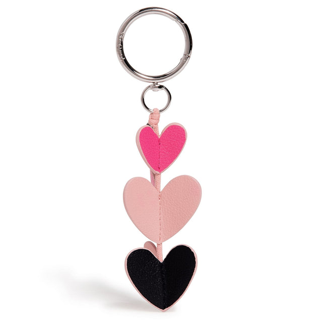 Valentine Bag Charm-Sweethearts and Flowers-Image 1-Vera Bradley