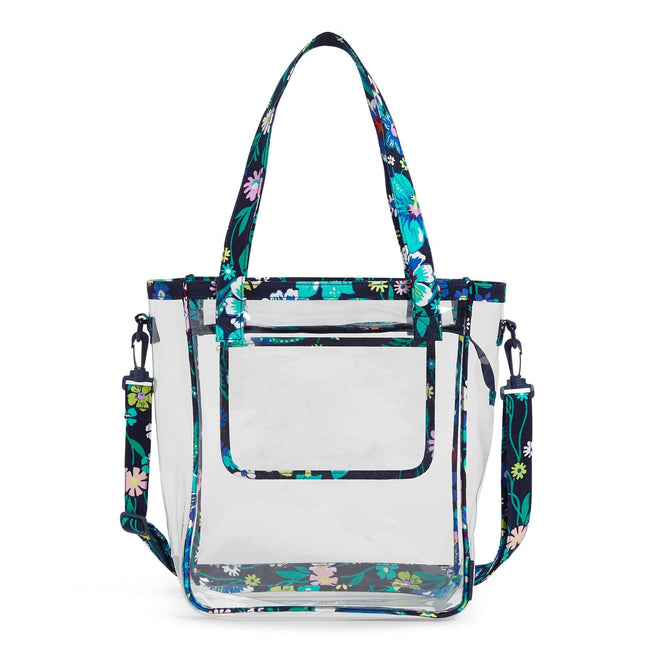 Clearly Colorful Stadium Tote Bag-Moonlight Garden-Image 1-Vera Bradley
