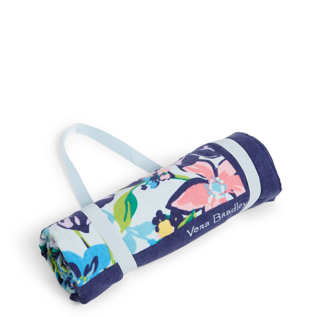 Factory Style Beach Blanket-Marian Floral-Image 1-Vera Bradley