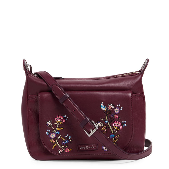 Carson Mini Shoulder Bag-Gallatin Mulled Wine-Image 1-Vera Bradley