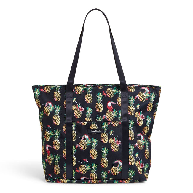 Factory Style Lighten Up Vera Tote Bag-Toucan Party-Image 1-Vera Bradley