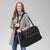Grand Weekender Travel Bag-Deep Night Paisley Neutral-Image 9-Vera Bradley