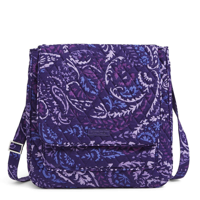 Factory Style Essential Mailbag Crossbody-Paisley Amethyst-Image 1-Vera Bradley