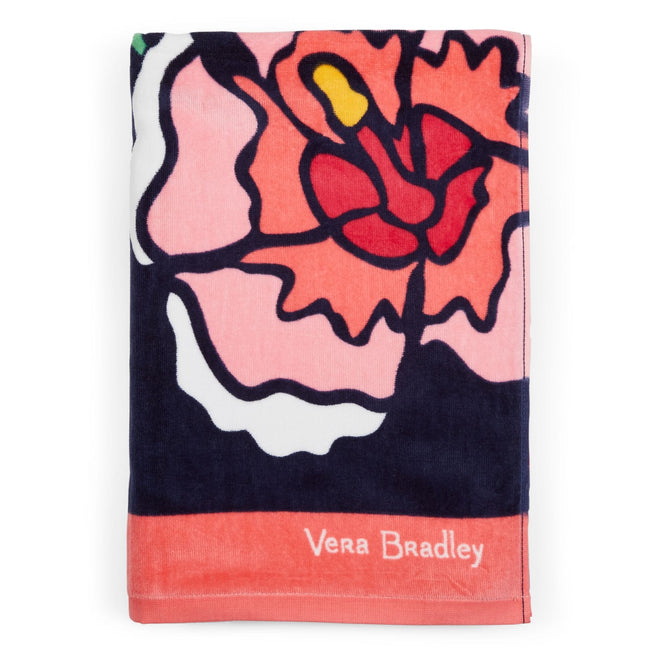 Factory Style Beach Towel-Toucan Party-Image 1-Vera Bradley