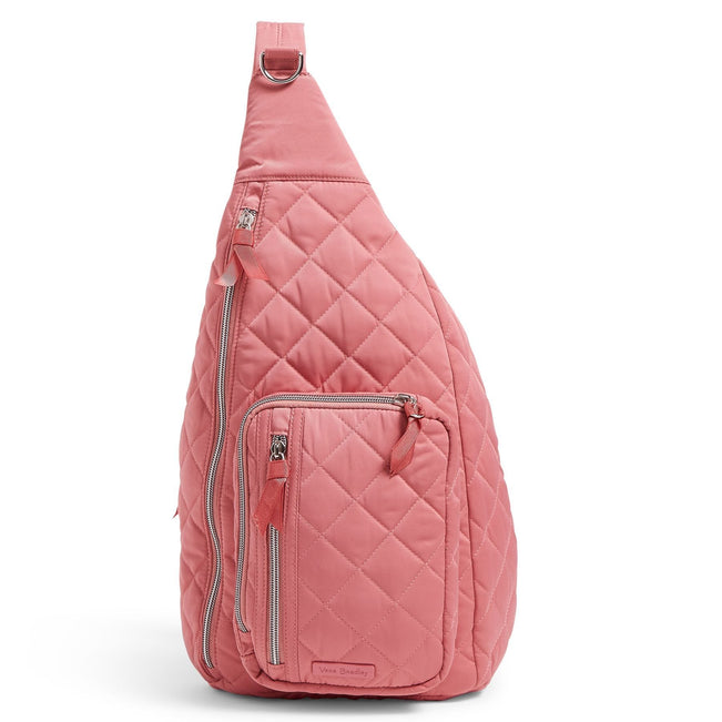 Sling Backpack-Performance Twill Strawberry Ice-Image 1-Vera Bradley