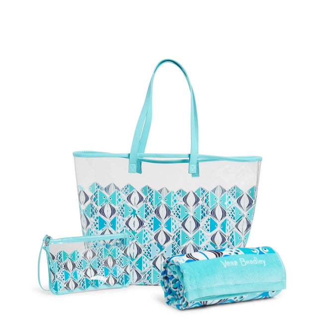 Factory Style Beach Bundle-Go Fish Blue-Image 1-Vera Bradley