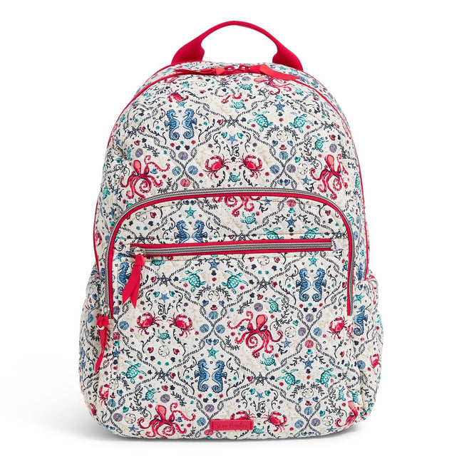 Campus Backpack-Sea Life-Image 1-Vera Bradley