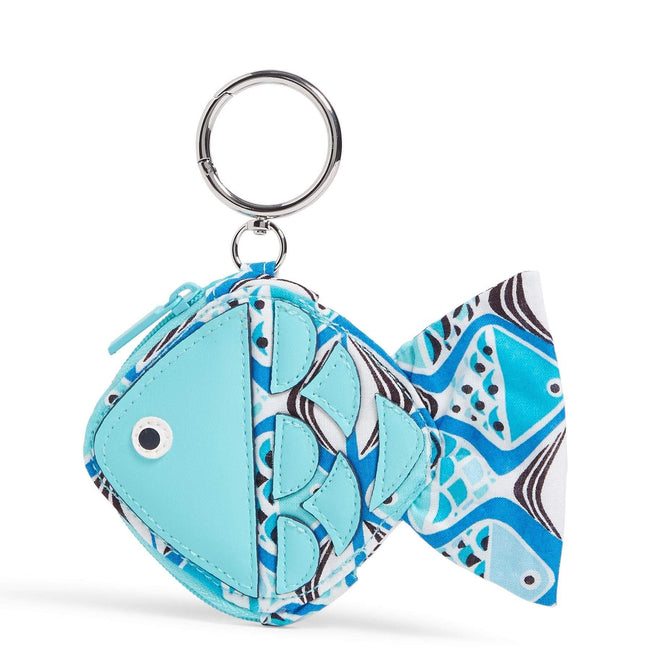 Factory Style Fish Bag Charm-Go Fish Blue-Image 1-Vera Bradley