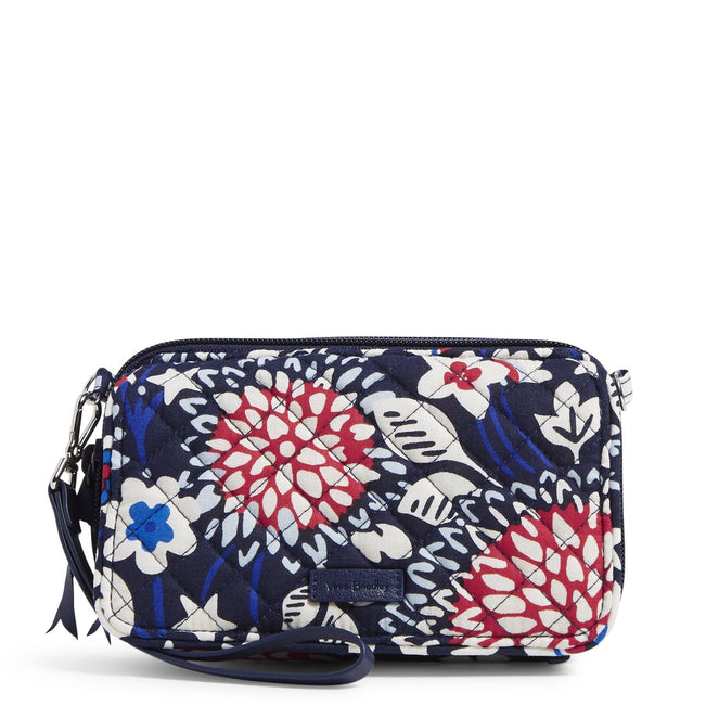 RFID All in One Crossbody-Red White & Blossoms-Image 1-Vera Bradley