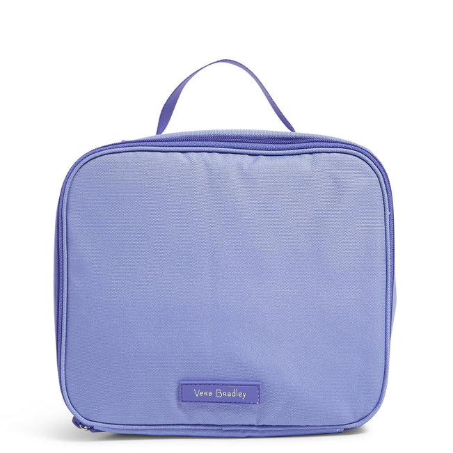 Factory Style Lighten Up Lunch Box-Deep Periwinkle-Image 1-Vera Bradley