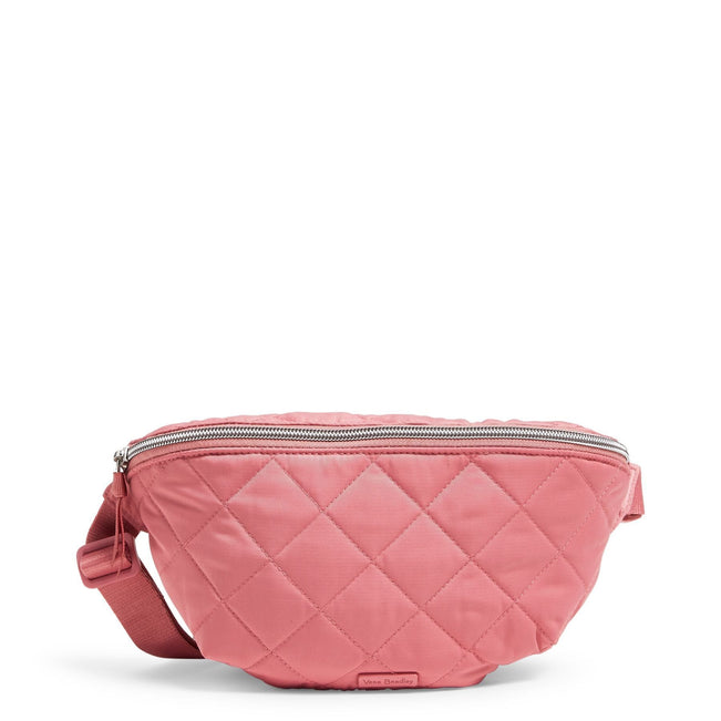 RFID Belt Bag-Performance Twill Strawberry Ice-Image 1-Vera Bradley