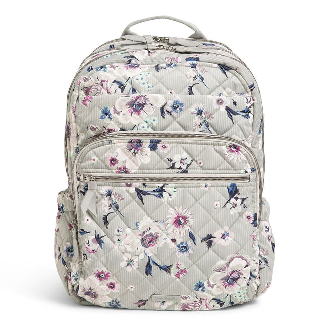 Large Campus Backpack-Park Stripe-Image 1-Vera Bradley