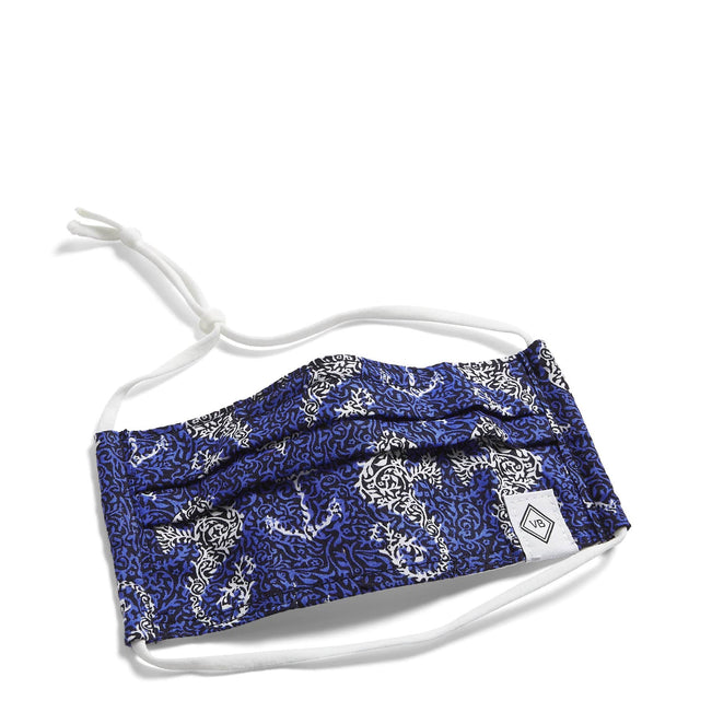Youth Pleated Mask with Adjustable Elastic-Seahorse of Course-Image 1-Vera Bradley