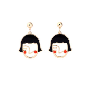 Cartoon earrings