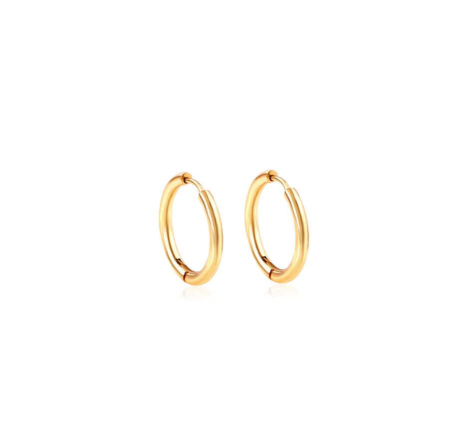 Circle Earring - color gold
